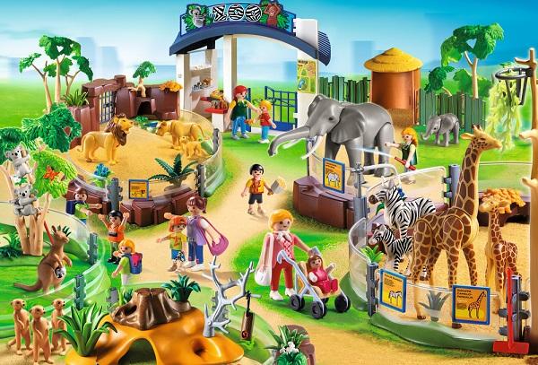 Puzzle Set Playmobil