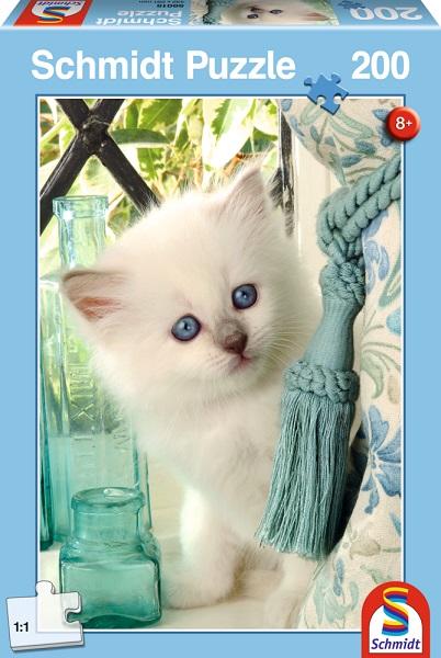 Puzzle Pisicuta alba