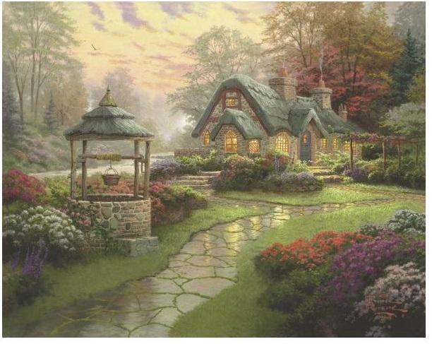 Puzzle Casa din vis