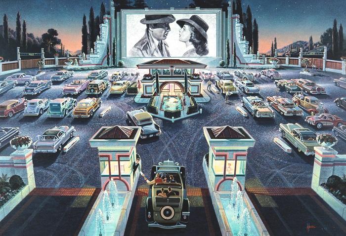 Puzzle Drive-in cinema
