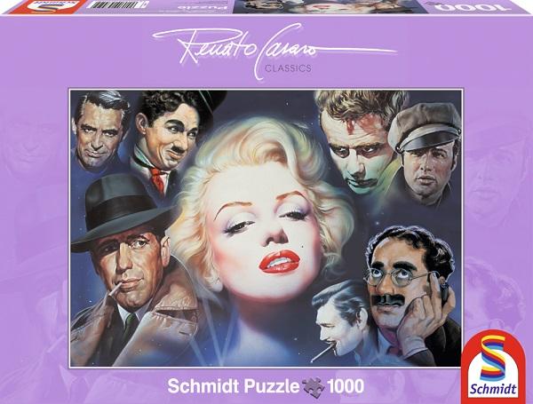 Puzzle Marilyn si prietenii