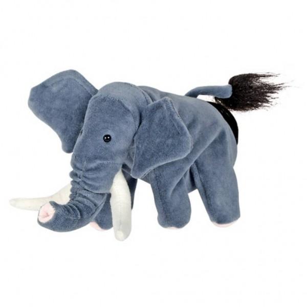 Papusa de mana stil manusa Elefant