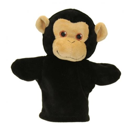 Prima mea papusa de mana Cimpanzeu