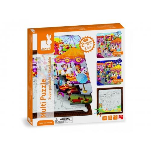 Set puzzle 3 in 1 - La balci