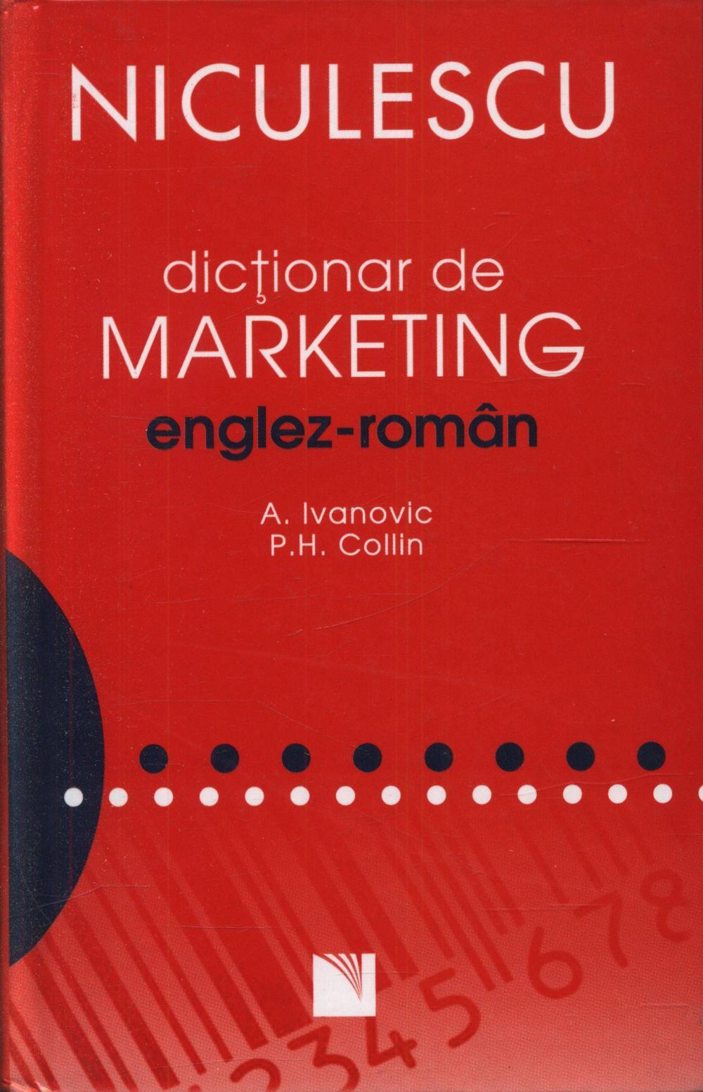 DICTIONAR DE MARKETING ENGLEZ-ROMAN