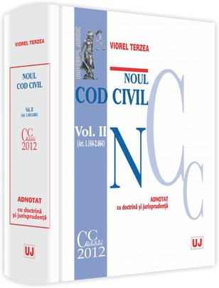 NOUL COD CIVIL. VOLUMUL 2