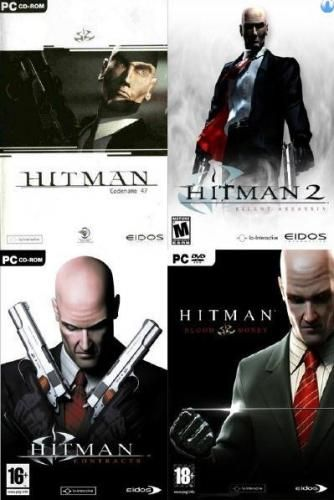 Hitman Collection 1-2-3-4  PC