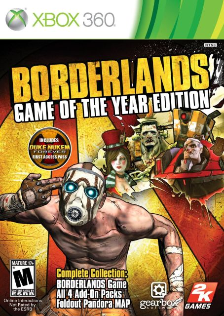 Borderlands: Game Of The Year Edition  X