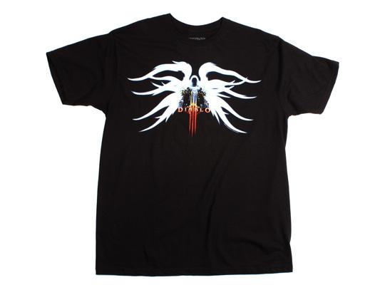 Diablo 3 Tyrael, black, XL