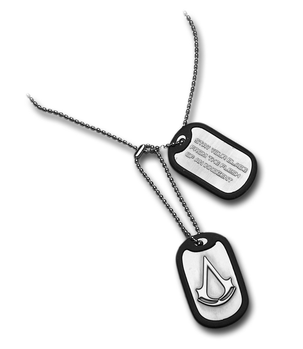 Assassins Creed Dog Tags