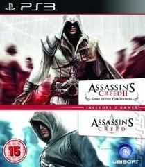 COMPILATION ASSASSINS CREED & ASSASSINS CREED 2 - PS3
