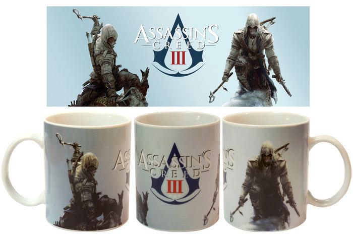 Assassins Creed Mug Connor