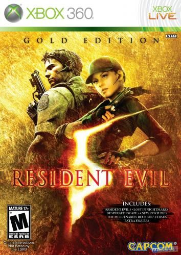 Resident Evil 5: Gold Edition  XBOX360
