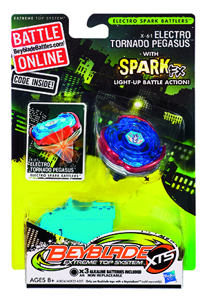 Titirez Beyblade Electro-Spark