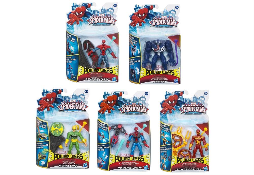 Figurina Spider-Man Power Webs