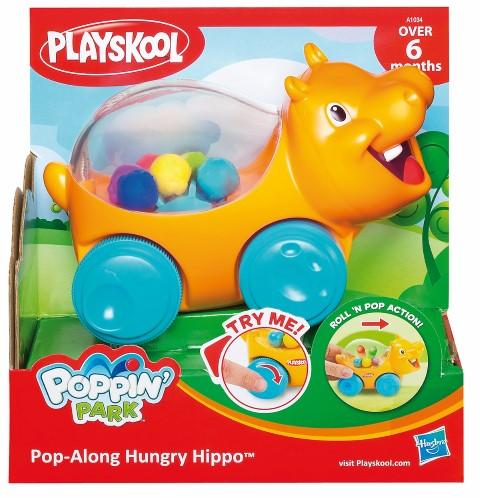 Hipopotamul Hippo - jucarie pe roti