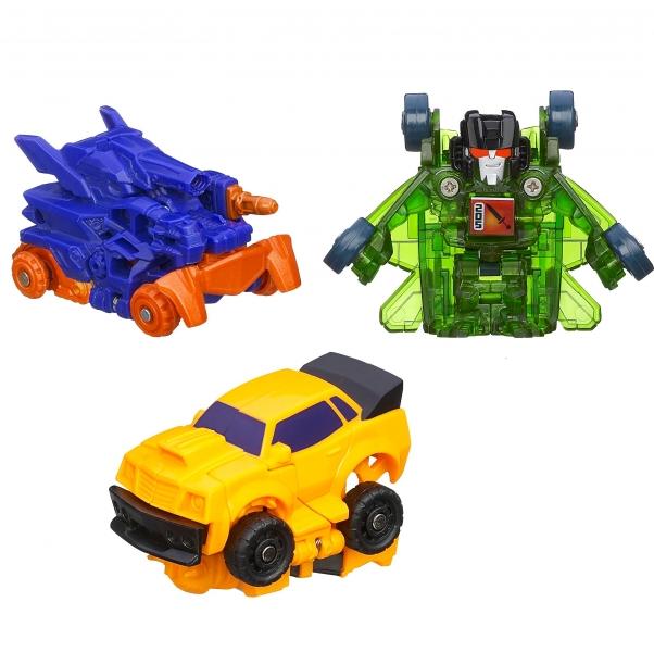 Pachet 3 robot/vehicul Bot Shots