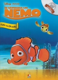 DISNEY AUDIOBOOK. IN CAUTAREA LUI NEMO CARTE + CD