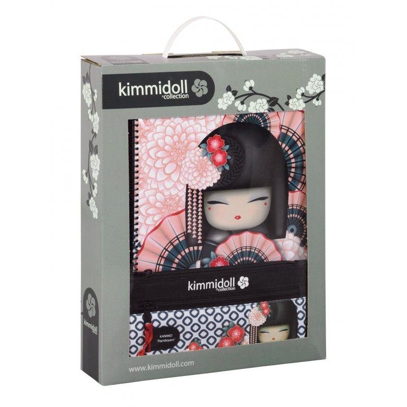 Set(caiet+penar+caiet mec.)Kimmidoll Kan