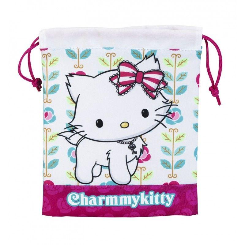 Saculet pranz 20x25,Charmmy Kitty