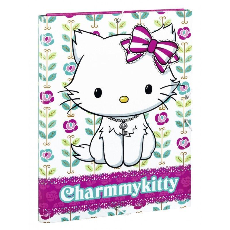 Mapa carton A4,clapa,elastic,Charmmy Kitty