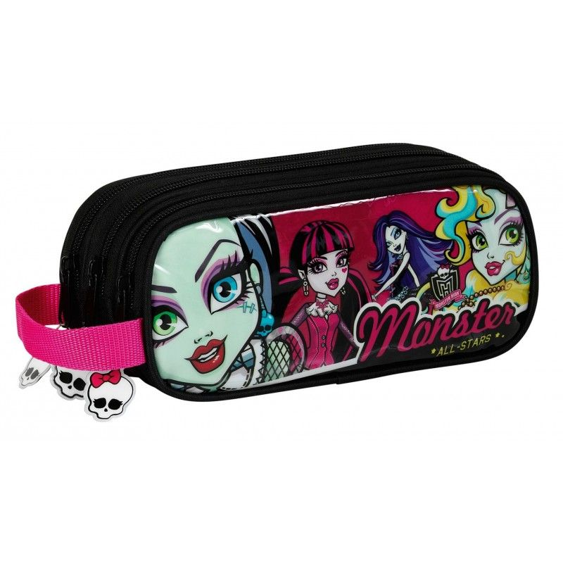 Penar triplu 21x8.5cm,Monsterhigh