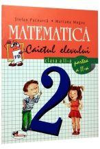 Matematica caiet clasa a II-a semestrul II
