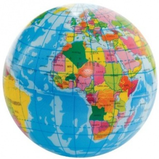 Minge antistres Glob pamantesc
