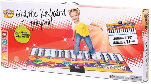 Jucarie covor muzical pian-180cm