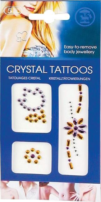 Kit tatuaje cu cristale