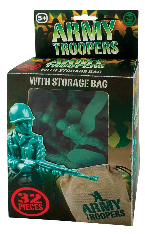 Set 32 soldatei din plastic
