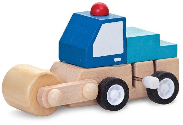 Camion din lemn cu cheie
