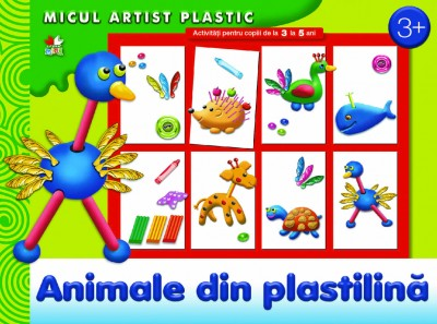 ANIMALUTE DIN PLASTILINA