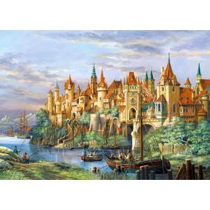 Puzzle 3000 Orasul Rothenburg