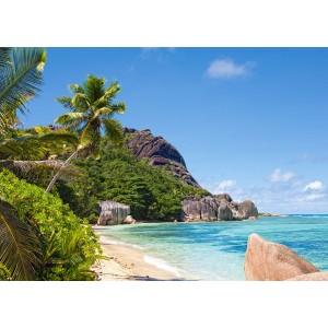 Puzzle 3000 Plaja tropicala, Seychelles