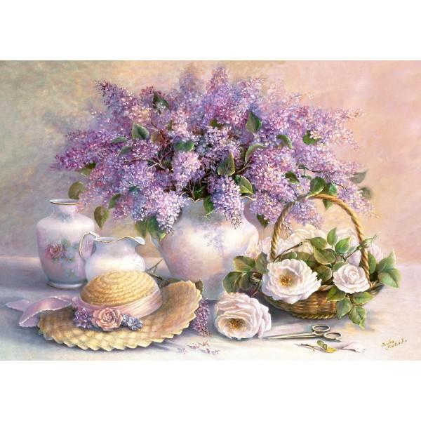 Puzzle 1000 Trisha Hardwick:Flower Day