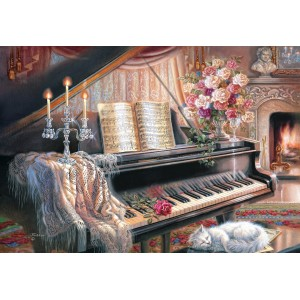 Puzzle 1000 Sonata by Firelight
