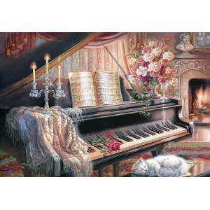 Puzzle 1000 Sonata by Firelight
