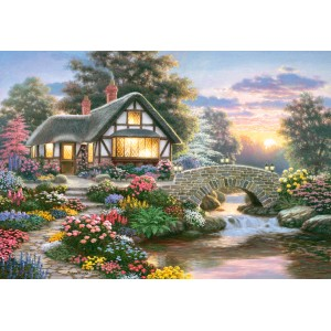 Puzzle 1000 Serenity Cottage