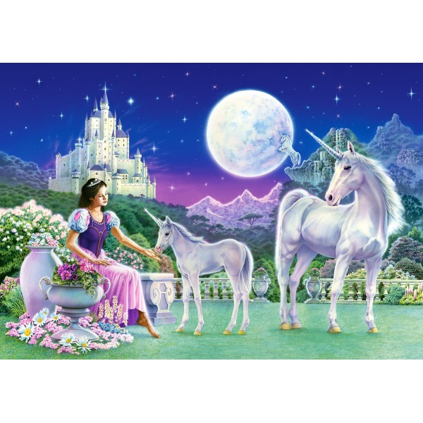Puzzle 500 Printesa unicornilor