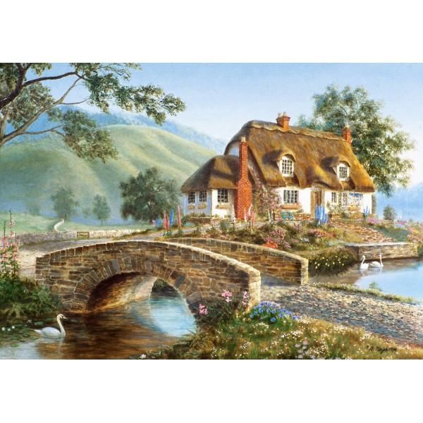 Puzzle 500 Casuta de la pod