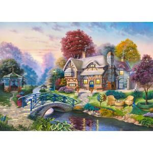 Puzzle 3000 Scena de toamna