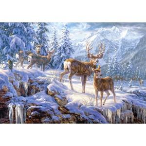 Puzzle 1000 Munte iarna