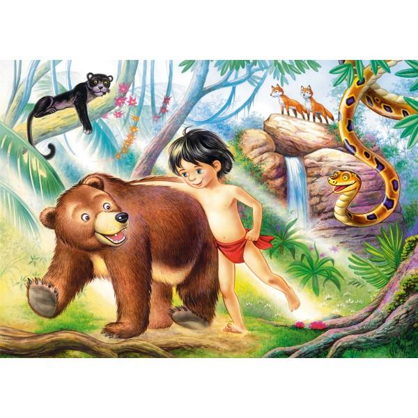 Puzzle 60 Cartea junglei
