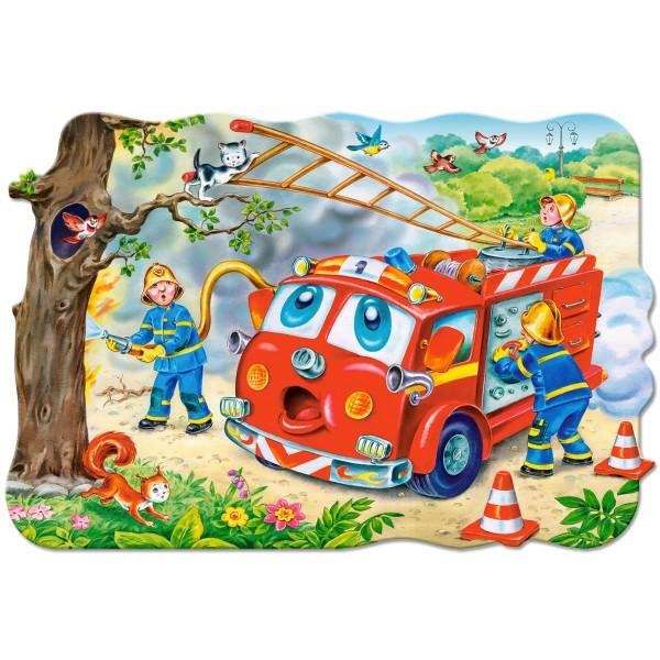 Puzzle 20 maxi Pompieri