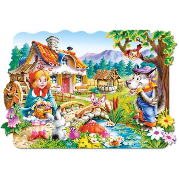 Puzzle 20 maxi Scufita rosie