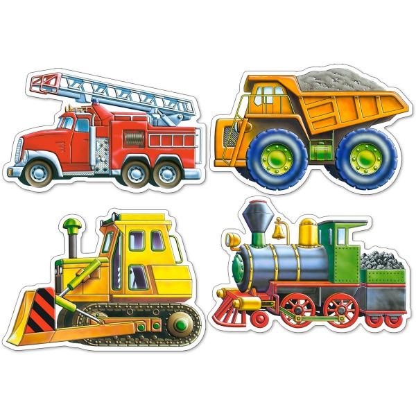 Puzzle 4+5+6+7 Autovehicule