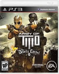 ARMY OF TWO THE DEVILS CARTEL LIMITED EDITION - PS