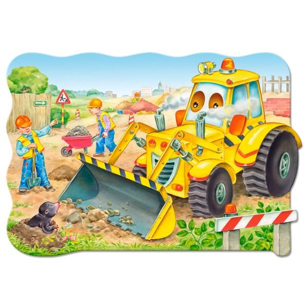 Puzzle 20 maxi Buldozer in actiune
