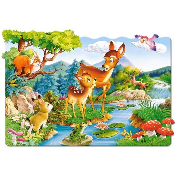 Puzzle 20 maxi Bambi